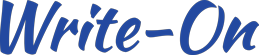 Write-On Logo